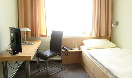 Einzelzimmer im Hotel Bürgermeisterkapelle